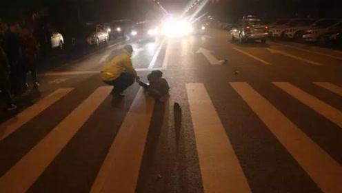 男子驾车撞倒行人后逃逸 事后民警一问三不知