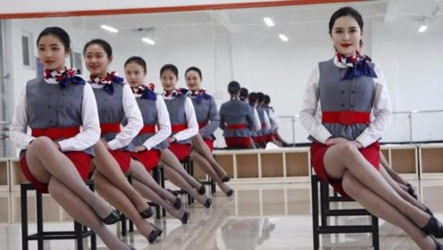 同样是空姐,韩国的忍了,中国的表示爱了,但是日本的是真的让人服了
