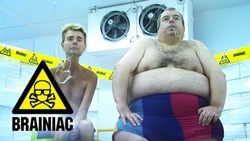 胖的人更抗冻?胖子和瘦子在冷库实验,看二人表情,答案一目了然