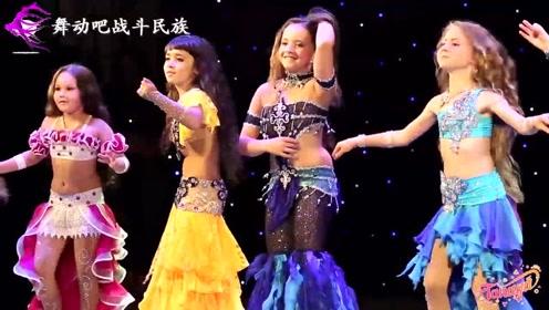 平均年龄只有8岁!乌克兰舞蹈名师的女弟子表演太精彩了