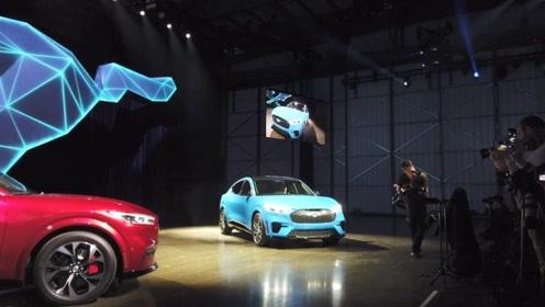 福特Mustang 新成员Mach-E首次亮相