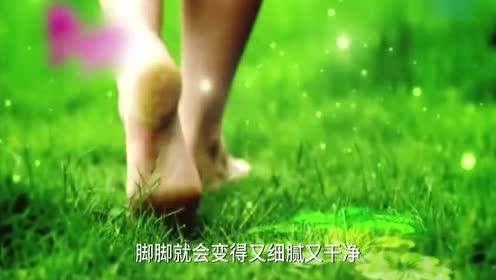 老外发明的拖鞋!用1000根刷毛!洗脚底板!死皮去得干干净净
