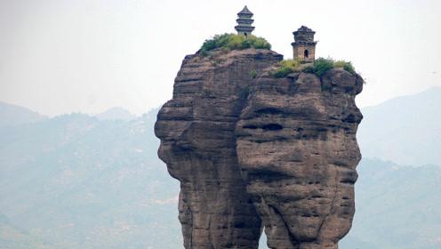 在河北山峰上的神秘寺庙,是如何修建的?至今依旧是世界未解之谜