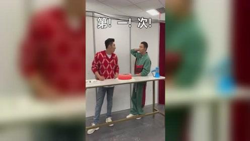 """黄景瑜送恶搞蛋糕为陈伟霆庆生 祝其""""屁股不再抽筋"""""""