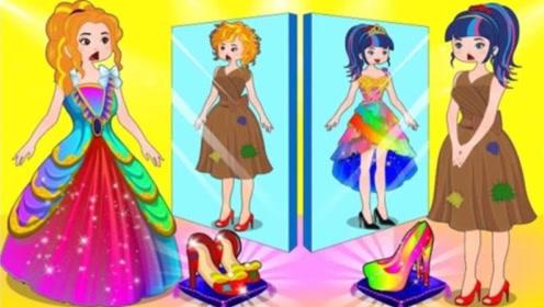 王子假装乞丐,街边要饭考验女孩,结果灰姑娘通过考验收获幸福!