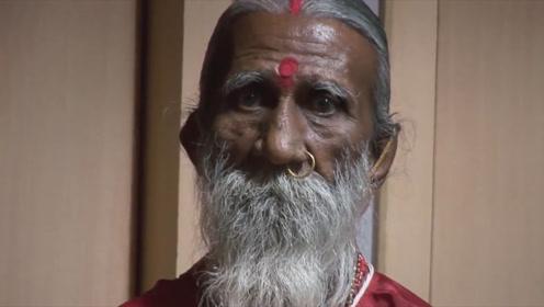 印度高僧:70多年没有吃过饭,网友:做个试验就知道了