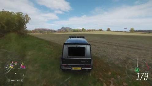 老司机驾驶越野车穿越荒郊,场景太真实,A本就是难!