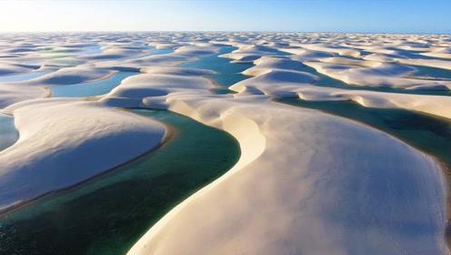 世界上最失败的沙漠,有山有水有湖泊,到处都是生机勃勃的景象