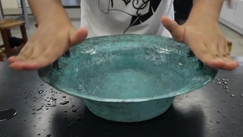 """""""龙洗""""是什么,为什么用手搓动后就会喷水?看完你就明白了"""