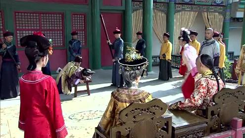 紫薇他们求他饶了过容嬷嬷,皇阿玛说罢了,输给他们这些孩子了!