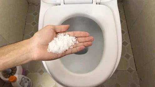 厕所里放一把食盐,真是太厉害了,一年省下几百元,抓紧告诉家人