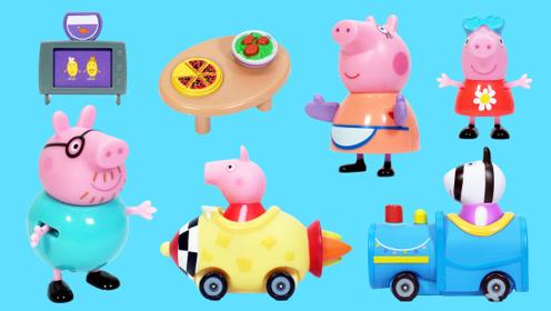 小猪佩奇在煮饭的儿童故事