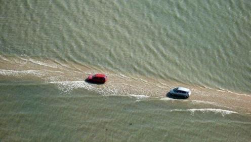 世界最危险的海上公路,必须一路狂飙才能过去,不然就危险了!