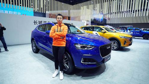 2019广州车展:声纹识别+车机微信 实拍2020款哈弗F5