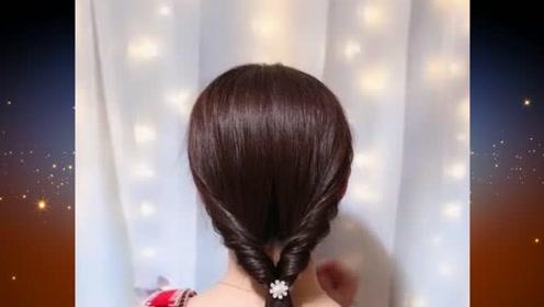 手再笨的人都能学会的扎发发型,简单时尚又易学,你学会了吗