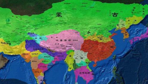 成吉思汗打下的领土,假如放在现代的话,都包括了哪些国家