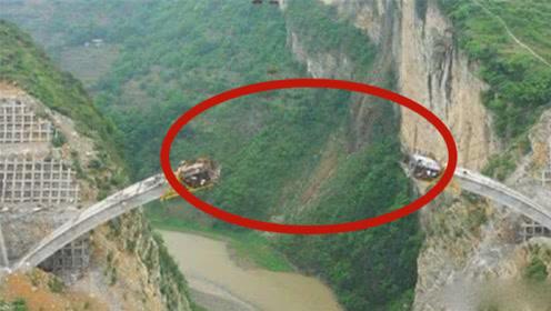 """没有支撑的大山如何""""建桥""""?中国工程师用智慧,折服了世界"""