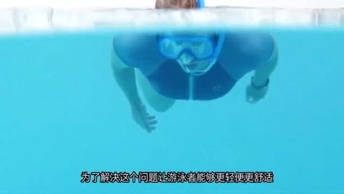 两根气管的浮潜呼吸器,不用担心二氧化碳的回流,太实用了