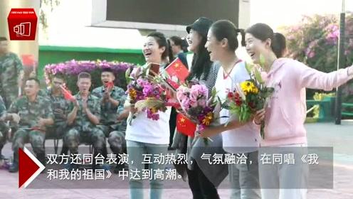 中国电影家协会组织部分电影工作者前往青屿慰问驻岛官兵