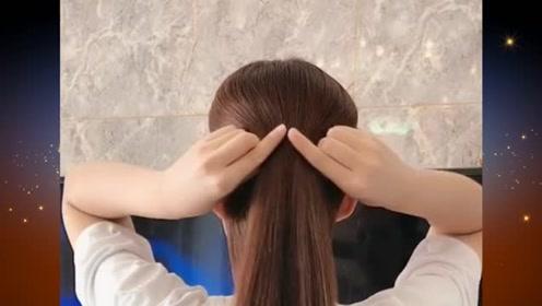 想要美美的度过整个季节,这样的扎发发型是个不错的选择哦