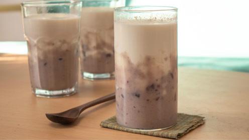 奶茶不用买,教你自己在家做芋泥奶茶,方法简单,比买的更好喝