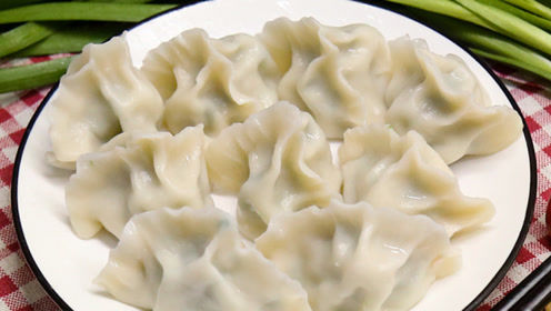 从来没吃过这么棒的饺子,味道真是太棒了,一学就会又鲜又嫩