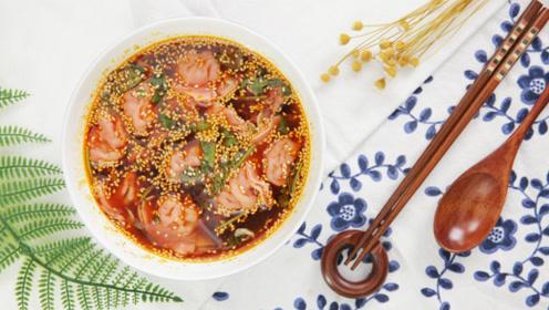 西安地道小吃,比蘸醋更有风味的西安酸汤水饺