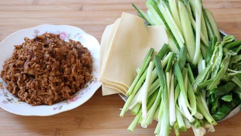 家常菜:京酱肉丝,上桌后家人都拍手称赞,说比饭店的还好吃