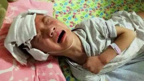 """3岁男童遭继母虐待,生母看到身上的""""咬痕""""彻底崩溃!"""