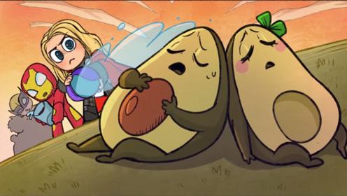 森林起火牛油果夫妇被困,幸好有超级英雄,不然后果难以想象!