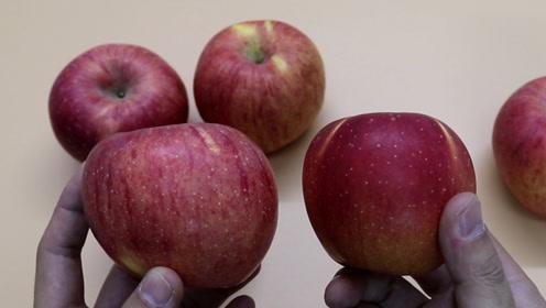 苹果好吃不好吃,看看歪不歪就知道,方法简单又实用,试一试