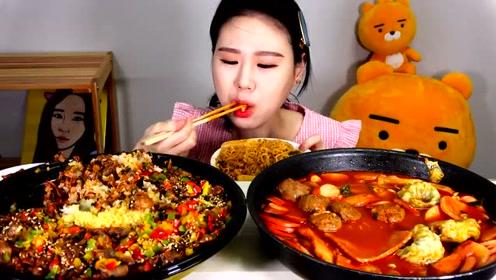 动手吃美食:吃美味面条 火锅