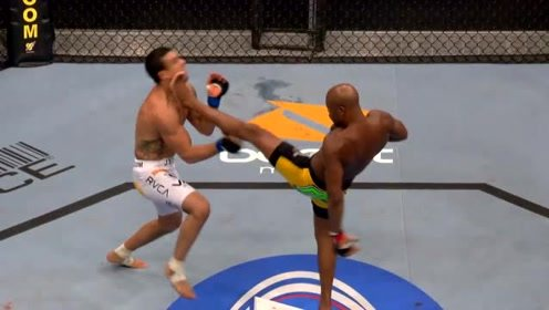 UFC126 席尔瓦一蹴而就,前蹴踢击败维托