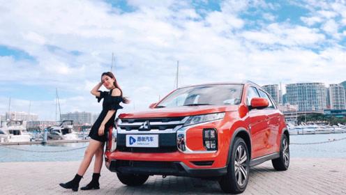10万级日系紧凑型SUV,三菱劲炫ASX焕新再战