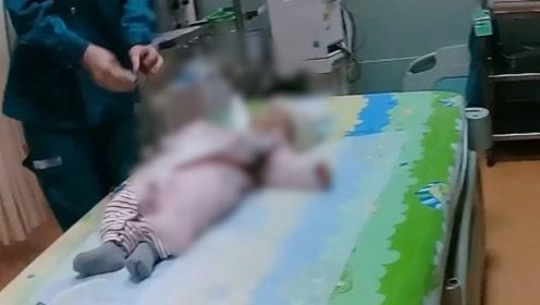 郑州一婴儿呛奶陷入昏迷 16名交警车流中开辟生命通道