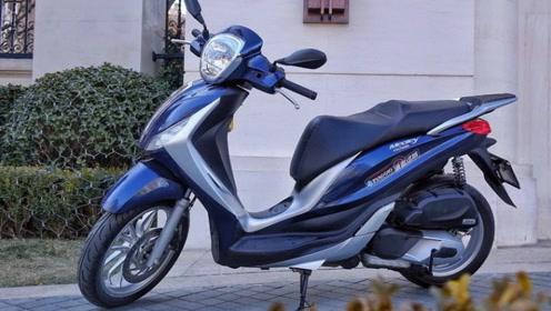 国内市场中,唯一可以与本田PCX150抗衡的踏板,单杠上水冷标配ABS