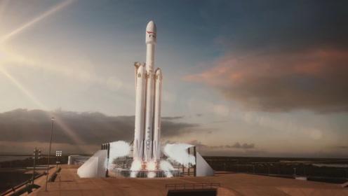 现役最强运载火箭首飞成功,特斯拉电动跑车被送太空,目的地火星!