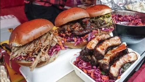 美国一个汉堡就有半斤牛肉,牛肉如此的贵,为何他们还能天天吃呢?