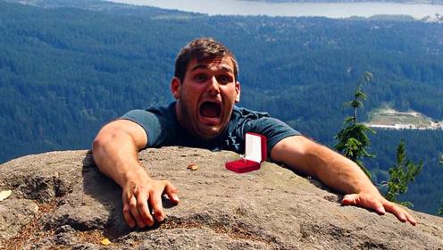世纪惨案!男子为证明自己忠贞在悬崖向女友求婚,仅仅2个小时