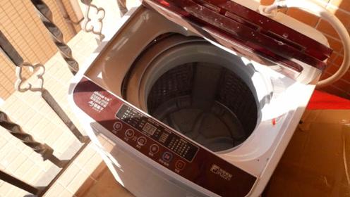 洗衣机这样清洁才正确,不用擦不用拆,洗衣机细菌脏东西全部消失