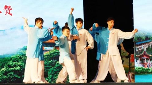 舞蹈《少年强则国强》,东莞观音山奋起直追