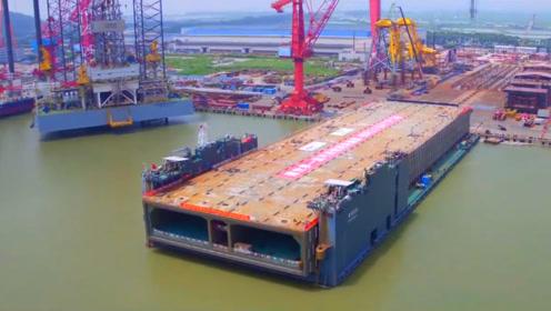厉害了我的国,又一超级工程即将建成,深中通道首截沉管钢壳运输
