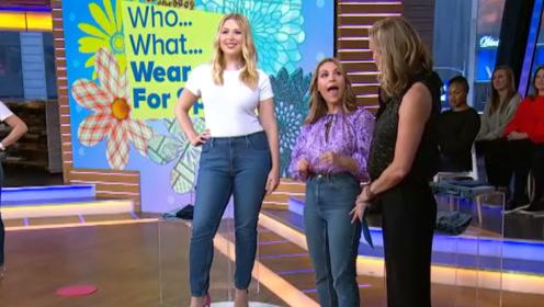 """欧美大妈的腿比男人都""""粗"""",却非要穿牛仔裤,原来只为这一点!"""