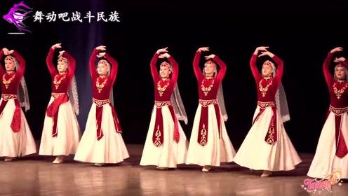 """好多""""古力娜扎""""!第一次看亚美尼亚少女跳舞,一饱眼福了"""