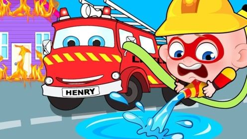 男孩立志当消防员,主动帮助消防员灭火,不曾想却成为了英雄!