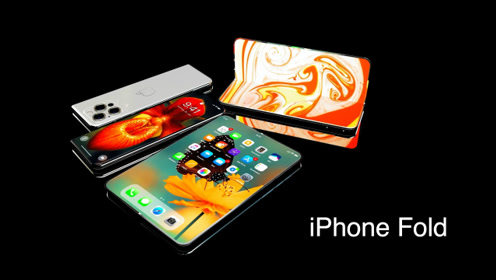 """iPhone Fold折叠手机来了:三星与华为只能""""靠边站""""?"""