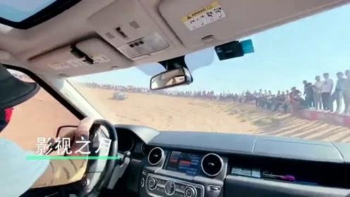 能在阿拉善玩耍的司机都是高手,众人拍手叫好,一看就是老司机!