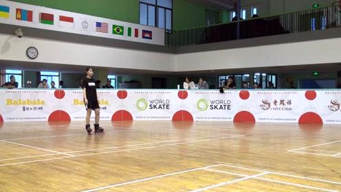 2019SSO上海国际公开赛 成女花式对抗 小组赛  第四组
