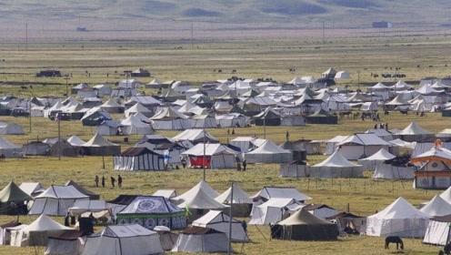 西藏路边的白帐篷不能随便进入,特别是男性,后果难以想象