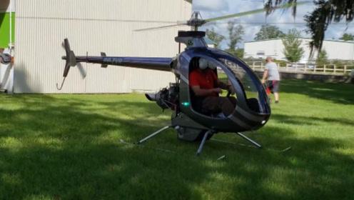"""超迷你电动""""直升机"""",38万直接开回家,飞行完全不需要驾照!"""